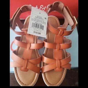 Cat & Jack girls Sandals